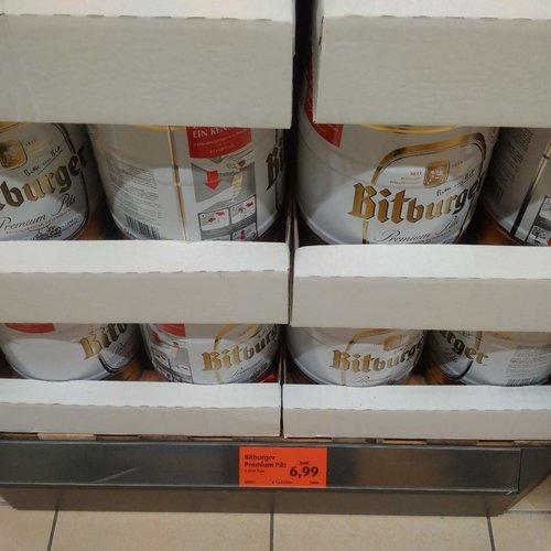 Bitburger Pils Fass 5l - jetzt 18% billiger