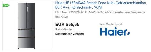 Haier HB16FMAAA Kühl-Gefrier-Kombination - jetzt 23% billiger