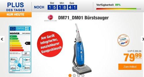 Hoover DM71 DM01 Bürstsauger - jetzt 20% billiger