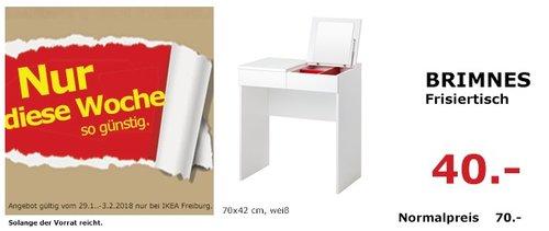 IKEA BRIMNES Frisiertisch - jetzt 43% billiger