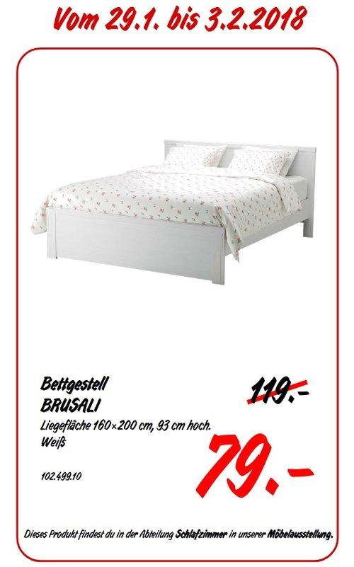 IKEA BRUSALI Bettgestell - jetzt 34% billiger