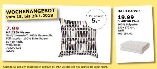 IKEA MALISEN Kissen - jetzt 38% billiger