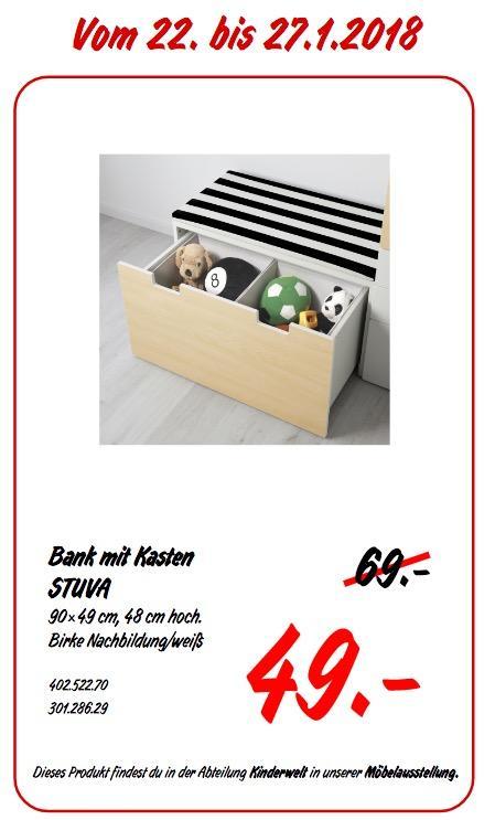 IKEA STUVA Bank mit Kasten - jetzt 29% billiger