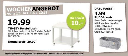 IKEA TINGBY Beistelltisch - jetzt 37% billiger