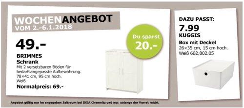 IKEA BRIMNES Schrank  - jetzt 29% billiger