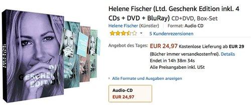 Helene Fischer (Limitierte Geschenk Edition) - jetzt 22% billiger