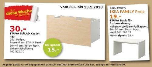 IKEA STUVA MALAD Kasten - jetzt 33% billiger