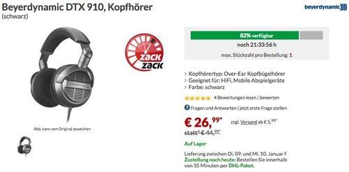 Beyerdynamic DTX 910 Kopfhörer - jetzt 27% billiger