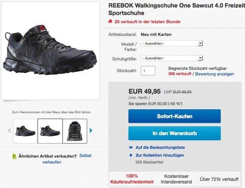 REEBOK Walkingschuhe One Sawcut 4.0  - jetzt 15% billiger