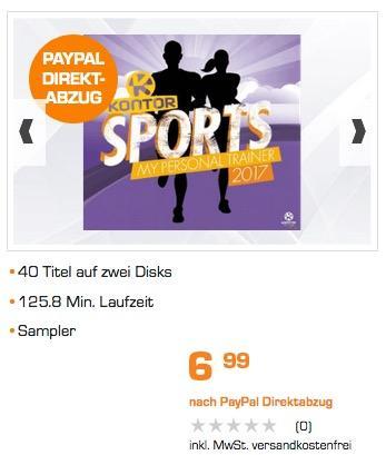 VARIOUS - Kontor Sports 2017 - (CD) - jetzt 30% billiger