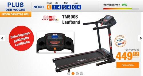 Christopeit Laufband TM 500S  - jetzt 12% billiger