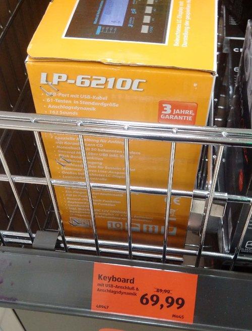 Keyboard LP-6210C - jetzt 22% billiger