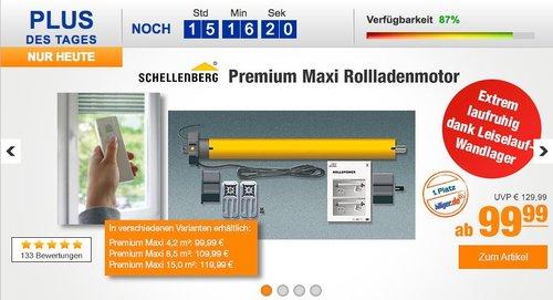 Schellenberg Premium Maxi 4,2 m² Rollladenmotor  - jetzt 14% billiger