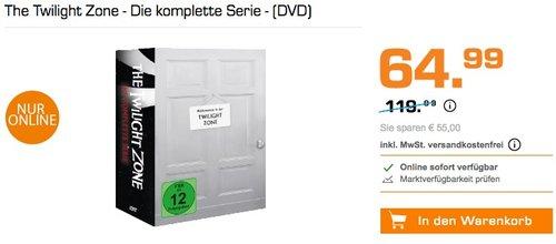 The Twilight Zone - Die komplette Serie - (DVD) - jetzt 29% billiger