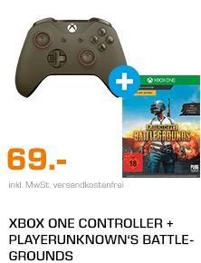 Xbox One Controller + Playerunknown's Battlegrounds - jetzt 12% billiger