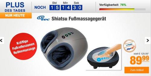 @tec Shiatsu Fußmassagegerät - jetzt 9% billiger