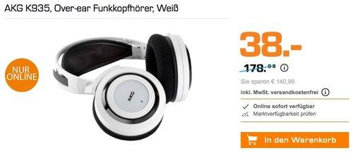 AKG K935 Funkkopfhörer Weiß - jetzt 36% billiger