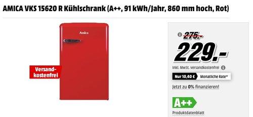AMICA VKS 15620 R Kühlschrank - jetzt 9% billiger