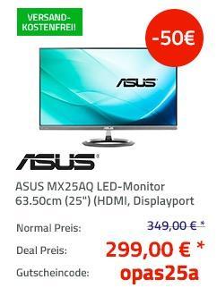 Asus MX25AQ 63,5 cm (25 Zoll) Design Monitor - jetzt 13% billiger