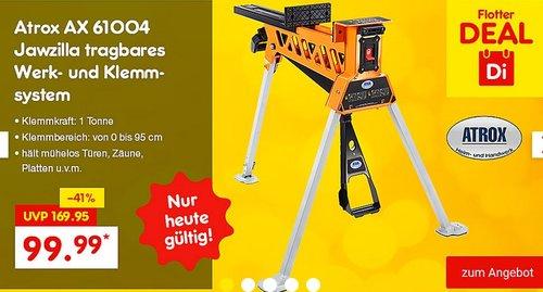 Atrox AX 61004 Jawzilla tragbares Werk- und Klemmsystem - jetzt 32% billiger