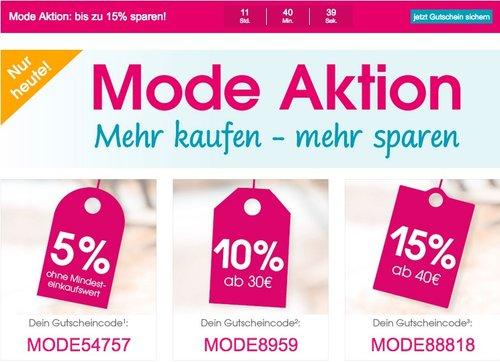 Babymarkt.de -bis zu 15% Rabatt auf Mode und nur heute (21.02.18) - jetzt 15% billiger
