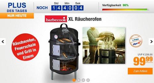Barbecook XL Räucherofen - jetzt 17% billiger