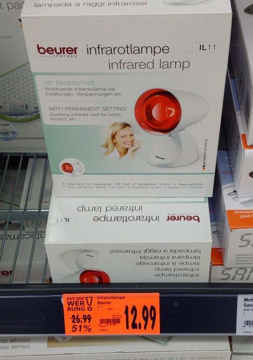Beurer IL 11 Infrarotlampe - jetzt 29% billiger