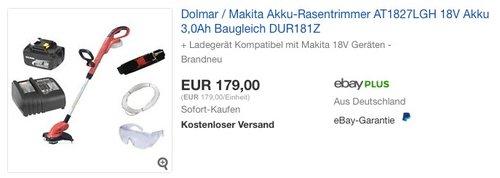 Dolmar AT1827LGH Akku-Rasentrimmer - jetzt 16% billiger