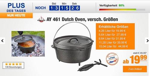 El Fuego AY 463 Dutch Oven - 8,64 L - jetzt 33% billiger