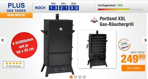El Fuego Portland XXL Gas-Räuchergrill - jetzt 10% billiger