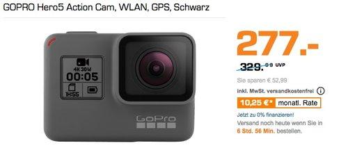GOPRO Hero5 Action Cam - jetzt 7% billiger