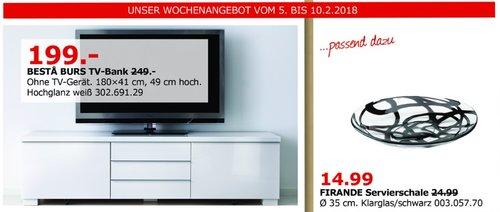 IKEA BESTA BURS TV-Bank - jetzt 20% billiger