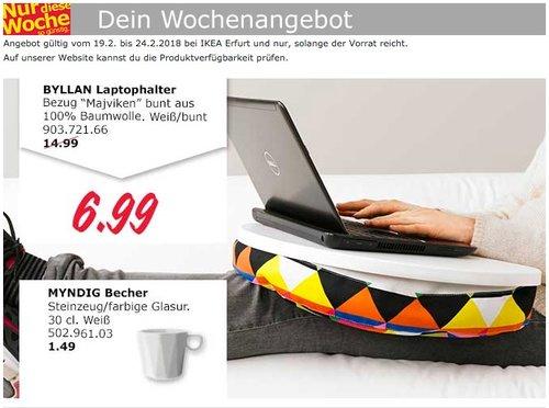 IKEA BYLLAN Laptophalter - jetzt 53% billiger