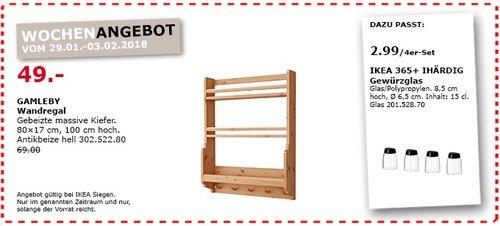 IKEA CAMLEBY Wandregal - jetzt 29% billiger