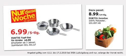 IKEA DUKTIG Topf-Set für Kinder - jetzt 46% billiger