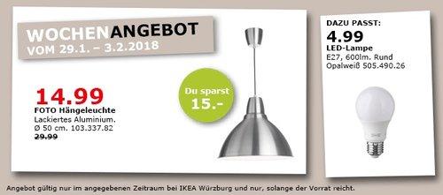 IKEA FOTO Hängeleuchte - jetzt 50% billiger