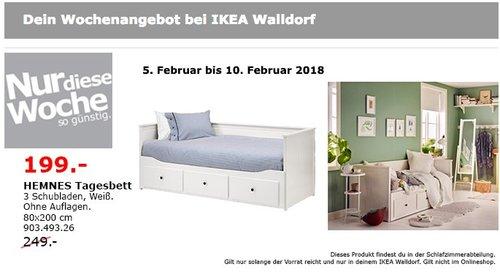 IKEA HEMNES Tagesbett - jetzt 20% billiger