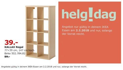 IKEA KALLAX Regal - jetzt 34% billiger