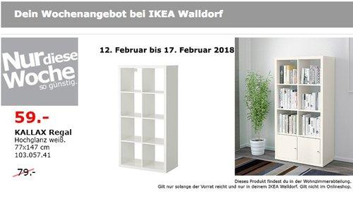 IKEA KALLAX Regal - jetzt 25% billiger