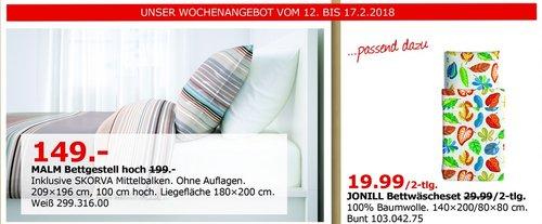 IKEA MALM Bettgestell hoch - jetzt 25% billiger