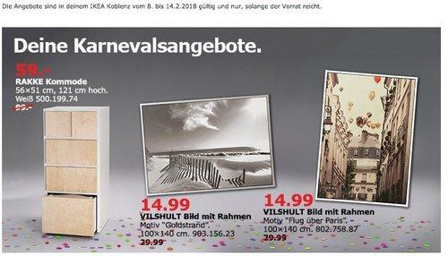 IKEA RAKKE Kommode - jetzt 40% billiger