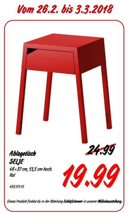 IKEA SELJE Ablagetisch - jetzt 20% billiger