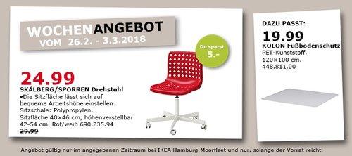 IKEA SKALBERG/SPORREN Drehstuhl - jetzt 17% billiger