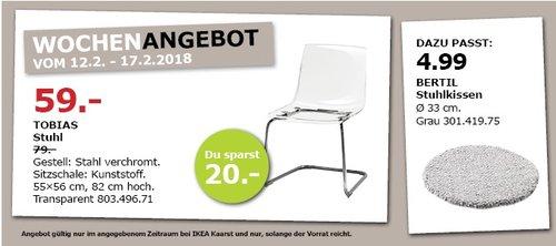 IKEA TOBIAS Stuhl - jetzt 25% billiger
