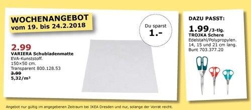 IKEA VARIERA Schubladenmatte - jetzt 25% billiger