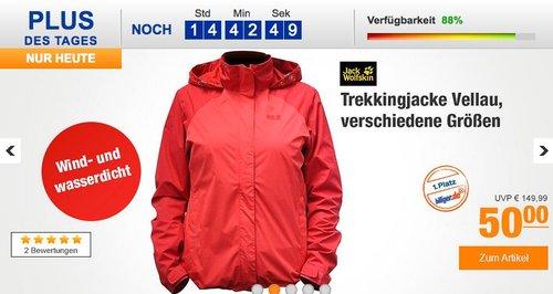 Jack Wolfskin Trekkingjacke Vellau - jetzt 29% billiger