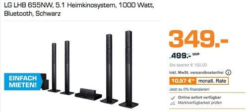 LG LHB 655NW 5.1 Heimkinosystem 1000 Watt - jetzt 17% billiger