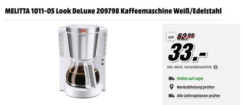 Melitta 1011-05 Look de Luxe Kaffeefiltermaschine - jetzt 28% billiger