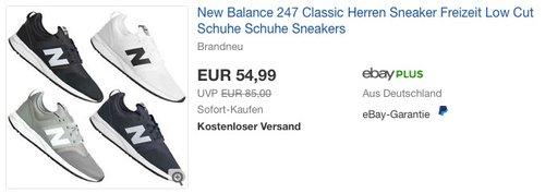 New Balance 247 Classic Herren Sneaker - jetzt 13% billiger