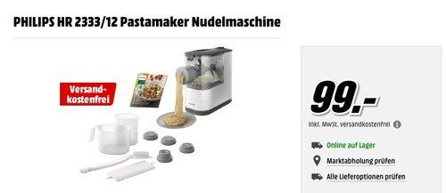 PHILIPS HR 2333/12 Pastamaker, Nudelmaschine - jetzt 27% billiger